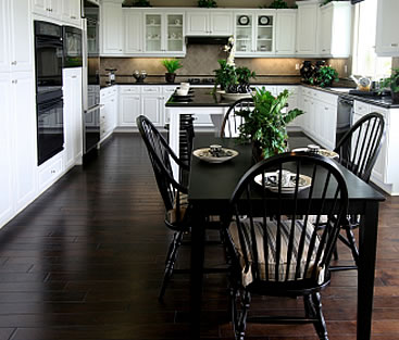 Designer flooring for kitchen